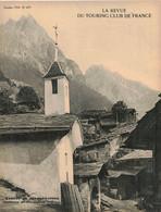 LA REVUE DU TOURING CLUB DE FRANCE 479 1934 BIBRACTE MONTRIEUX CHAMBERANGER SIDI TAIBI AUTUN CHARTRES CHÂLONS JOIGNY - 1901-1940