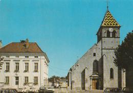 21 - Is-sur-tille- L'église Et La Mairie - Is Sur Tille