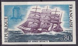 FRANCE - Cap Hornier L'Antoinette Non Dentelé TTB - Imperforates