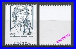 2013 - Marianne De Ciappa-Kawena - Y&T N° 4780 A B - Piquage à Cheval 90/10 - Sans Numéro Au Dos - Neuf** - 2013-... Marianne (Ciappa-Kawena)