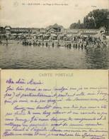 D - [512933]B/TB//-France  - (95) Val D'Oise, Isle-Adam, La Plage à L'Heure Du Bain - L'Isle Adam