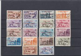St Pierre & Miquelon - 1941 - YT 212A/31A  Sauf 214A -216A-217A -  Mais + 221B - Obl. - Timbres De 1938-39 - Used Stamps