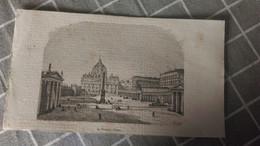 Gravure -  LE VATICAN A ROME - Manifesti