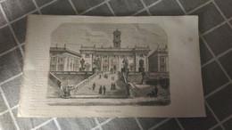 Gravure -  Vue Du Capitole à ROME - Manifesti