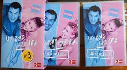 Lot De 2 Cassettes Vidéos VHS - Un Gars, Une Fille N° 3 Dans Un Coffret - Tv Shows & Series
