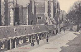 376561Haarlem. Oude Groenmarkt (poststempel 1906) (zie Hoeken En Achterkant) - Haarlem