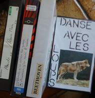 Lot De 8 Films Sur 5 Cassettes Vidéos VHS - Enregistrement Maison - Collections & Sets