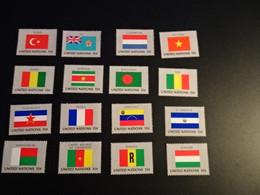 K45289-   Set MNh United Ntaions 1980 - SC. 325 - 340 - Flags - Briefmarken