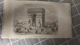 Gravure -  Arc De Triomphe De L'Etoile - Manifesti