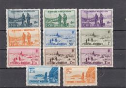 St Pierre & Miquelon - 1939/40 - YT 196/206** -  Neuf** - Timbres De 1938 - Unused Stamps
