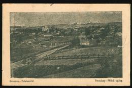 AK 1915 Swenziany Święciany Schwintzen Litauen Widok Ogolny Totalansicht, Feldpost - Litouwen