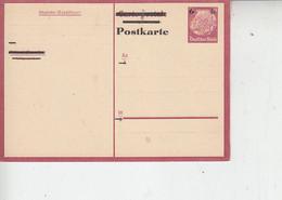 GERMANIA   1933 -  Postkarte - Hindenburg - Interi Postali