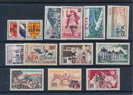 EC-272: REUNION: Lot Avec N°307/319** - Unused Stamps