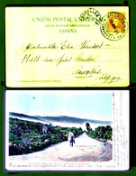 ES, 1903 CV V/ Belgique - Storia Postale