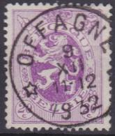 Belgie   .  OBP   .     281   .  Offagne     .      O .    Gebruikt  . / .   Oblitéré - Used Stamps