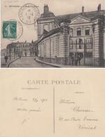 PAS DE CALAIS CP 1915 CP DE BETHUNE ECRITE A BETHUNE 5C SEMEUSE OBLIT TRESOR ET POSTE *57* - 1877-1920: Semi Modern Period