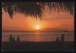 Manila. *Golden Sunset Of Manila Bay* Circulada 1966. - Filippine
