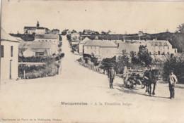 MACQUENOISE / LA FRONTIERE BELGE / ATTELAGE  1915 - Momignies