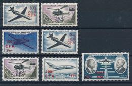 EC-279: REUNION: Lot Avec PA N°56/62** - Airmail