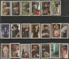 USA 2013 Harry Potter Cpl 20v Set Used Scott # 4825/44 - Used Stamps