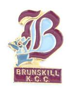 Pin's Saskatoon (Canada) - BRUNSKILL KCC - Lettre B Et Ours Triomphant  - K348 - Amministrazioni