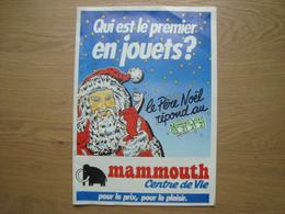 CATALOGUE DE JOUETS MAMMOUTH NOVEMBRE 1988 - Pubblicitari