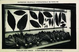 ► Cpa 1931 Pavillon Du TABAC  De L'Exposition Coloniale De Paris - Reclame-artikelen