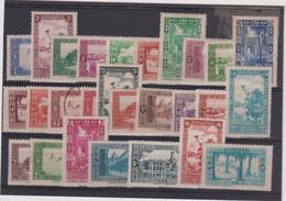 ALGERIE-TP SERIE N° 101/126 X- OB-quelques Petits Défauts - Algérie (1962-...)
