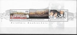2003  Deutschland   Germany  Mi. Bl. 61 **MNH  Berühmte Knabenchöre - Unused Stamps
