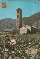 CPSM - Andorre -Santa Coloma - El-Mil-lenari - Campanar Romanic - Andorra