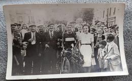 Carte Photo Coureur Cycliste - Cycling