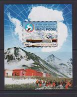 Peru (2020) - Block - /  Antarctic - Antartida - Antartide - Polar - Base - Expediciones Antárticas