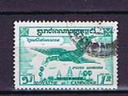 Kambodscha, Cambodge 1957: Michel-Nr.82 Gestempelt, Used - Cambodge