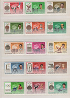 (S2516) NORTH KOREA, 1978 (History Of Olympic Games And Winners). Complete Set. Mi ## 1760-1774. MNH** - Korea (Noord)