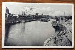 COSEL -  ODERHAFEN - KOHLENKIPPER  POST CARD GERMANY PLEBISCITES HAUTE SILESIE 40 : Cosel 19/2/20  To SAN REMO - ITALY - Mundo