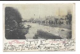 POSTCARD OF ΑΘΗΝΑ - ATHENS , LLISSO ( H LLISSUS ) RIVER , VERY ANIMATED , 1901 . - Grèce