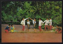 Visayan Islands. *Tinikling* Nueva. - Filippine