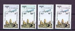 "Kambodscha, Cambodge, Kampuchea 1986: Michel-Nr. 737-740 Gestempelt, Used/cto ""R. P. Du Kampuchea"" - Cambodge"