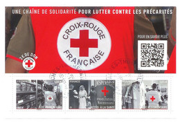 Superbe Bloc F5350 Croix Rouge 2019 Oblitérée TTB PCD Rond - Used Stamps