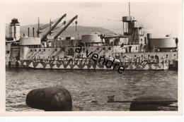 Motor Fähre, 45, Vor Wohnschiff  CONDORCET à Toulon 1942 - Guerra