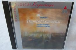 """CD """"Vivaldi"""" Trumpet Concertos, Claudio Scimone - Classica"""
