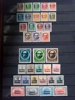 BAVIERE. 1919 - 1920 . N° 116A à 176B. 57 Timbres NEUFS+ . Côte YT 2020 : 37,70 € - Bavière