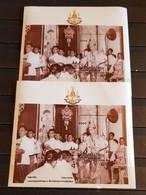 TUVA GOLDEN JUBILEE 2 M/SHEETS PERFORED MNH - Otros