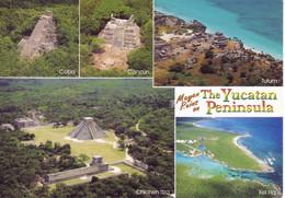 Messico - Penisola Dello Yucatan, Affrancata E Viaggiata - Mexico