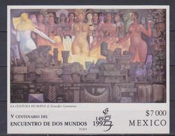 Mexico - 1992 500. Jahrestag Entdeckung - Begegnung Der Kulturen ** - Archeologie