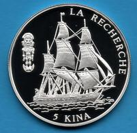 PAPUA NEW GUINEA 5 KINA 1997 KM#  43   Argent 925‰ SILVER PROOF LA RECHERCHE - Papua New Guinea
