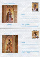 ROMANIA 1997: QUEEN MARY & KING FERDINAND, 2 Unused Prepaid Covers 093/1997, 094/1997 - Registered Shipping! - Entiers Postaux