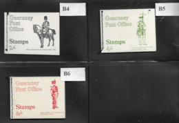 1970 MNH Guernsey, Booklets, Postfris** - Guernsey