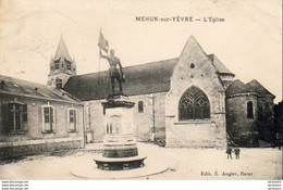 D18  MEHUN SUR YÈVRE  L'Église - Mehun-sur-Yèvre