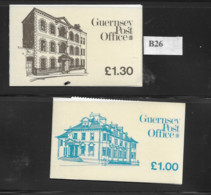 1983 MNH Guernsey, Booklets, Postfris** - Guernsey